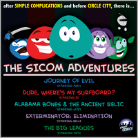 THE SICOM ADVENTURES by simpleCOMICS