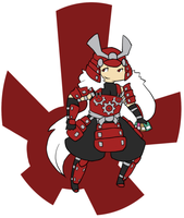 Kikucho the Crimson Gear by Rose-Demorus