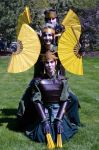 Kyoshi Warrior Disguises by thatbloodypirate