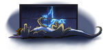 Meanwhile, During the Thunderstorm by Cynderheart