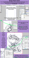 Manga Studio Debut Tutorial by Xaiyu