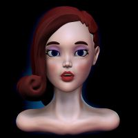 Redhead sculpt front by Nalimn