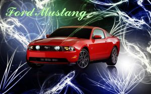 Ford Mustang by sohailykhan94