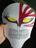 Construction Paper Hollow Mask by RufustheGreen