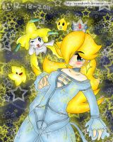 Rosalina and TheStars by NyandrewB