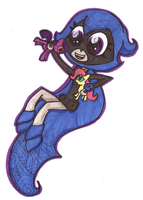 Cute Raven by chainy-chainick