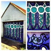 Garage Doodle Experiment by Mr-Crease
