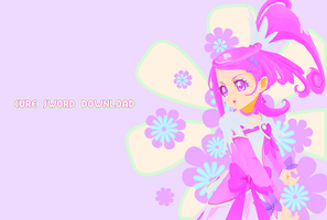 MMD Cure Sword Download #CLOSED by xxSnowCherryxx