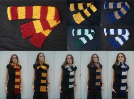 Harry Potter Scarves - Updated by RebelATS