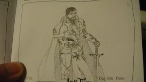 Grand Master Templar Knight Cale Foster by Muramasa91