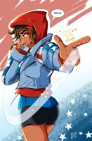 Happy Fourth with America Chavez by MachSabre
