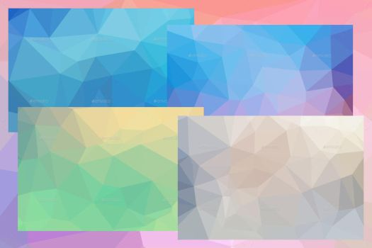 Flat Polygon Backgrounds (Screenshots) by Cooltype-GR