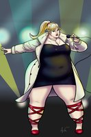 Plus-sized Envy Adams by Ray-Norr