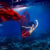 Underwater Dance 18 by Vitaly-Sokol