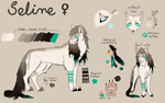 Seline - Ref sheet auction CLOSED by Kaysa99