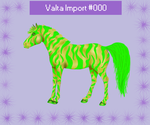 Valta Horse Design : Stunning Tiikeri Mutation in by cherokeeleprechaun