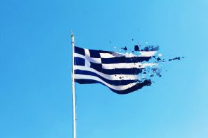 The Hellenic Flag by Silisav