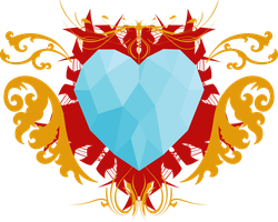The Crystal Heart Vector by Ackdari