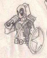 Deadpool-Time to do some Avenging bitches. by gordzilla1971