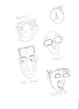 Horrible Half-Life sketches by StalwartPhobos128