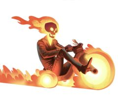 Hell on (big) Wheels by bearmantooth