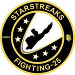 25th Fighter Squadron 'Starstreaks' Insignia by nels33