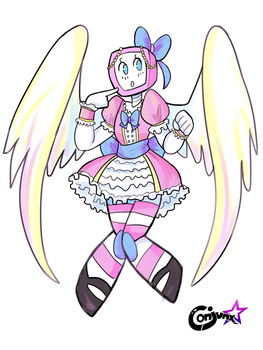 Custom Angel Adopt for Maximusgrowler! by Conjunx