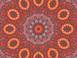 Flash Flower and Pedal Fractal Kaleidoscope by CarlosAE