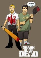 Shaun of the Dead by Veil1