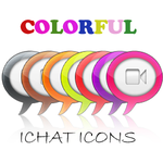 Colorfull iChat icons by TheGraphicGeek