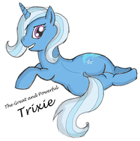 Trixie Pin-Up by Infrasonicman
