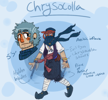 Chrysocolla -Steven Universe OC- by the-Assyrian