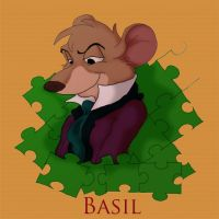 Puzzled Basil by Bumme4