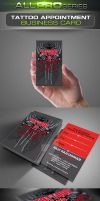 Tattoo Business Card by ravirajcoomar