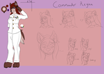 Among The Anthros: Commander Regina by Wolfbaloo