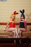 Anime Boston 2014 OH bunnies by KrazedChaos