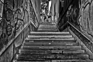 Treppe by schafsheep