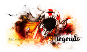 Bleach - Ichigo - Sign by legendasfp