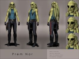 Character sheet: Prem Nor by Kaernen
