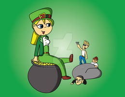Wanda March Drawing: the Lucky Leprechaun by daimando