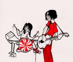 the white stripes by koosh-llama