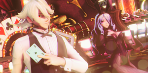 |MMD|FE:F|M!CorrinXCamilla| oO-=Blackjack=-Oo by UniTheNep