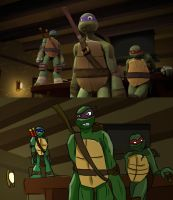 TMNT Screen Cap: My Version by JennieJutsu