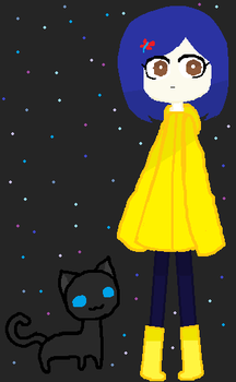 Coraline by iiCloudyFrisk