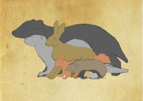 Realistic Redwall - The Good by Benalene