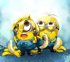 Despicable me : Minions by Sa-Dui