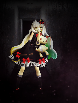 : MMD : ...but I'm addicted by PuniPudding