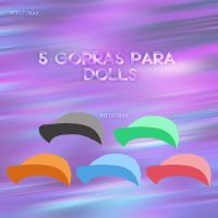 Gorras simples para dolls by PiTuFiNa7