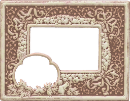 Antique Ad Frame 4 by ScrapBee