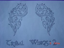 Tribal Wings: 2 by lost-dawn